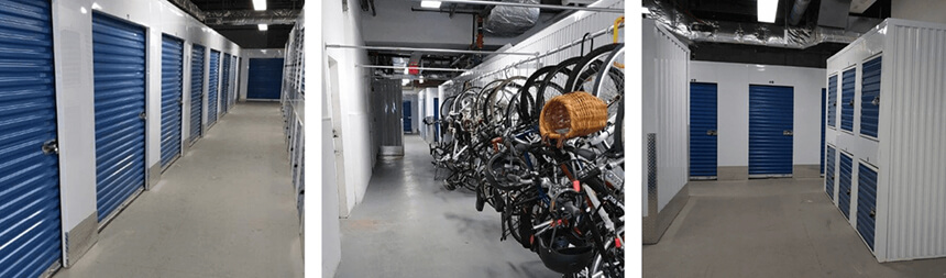 Storage Units and Bike Storage
